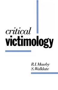 Critical Victimology