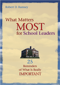 What Matters Most for School Leaders