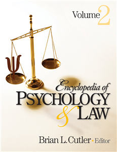 Encyclopedia of Psychology and Law