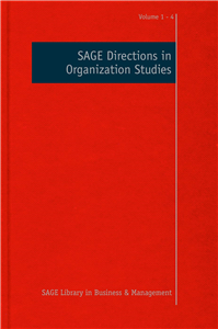 SAGE Directions in Organization Studies
