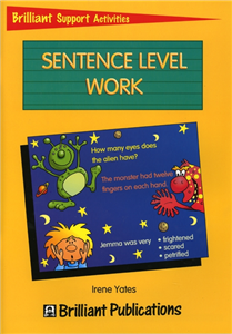 Brilliant Support Activities English- Sentence Level Work