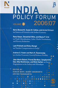 India Policy Forum 2006-07