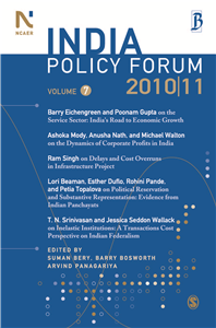 India Policy Forum 2010-11