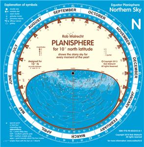 PLN-EQR – Planisphere for the Equator area