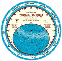 PLN-40NL - Dutch Holiday Planisphere for 40° north
