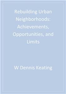 Rebuilding Urban Neighborhoods