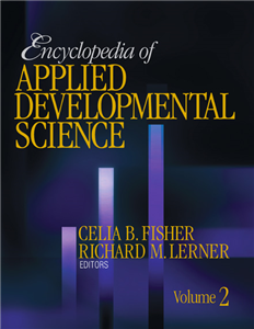 Encyclopedia of Applied Developmental Science