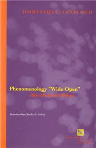 "Phenomenology ""Wide Open"""
